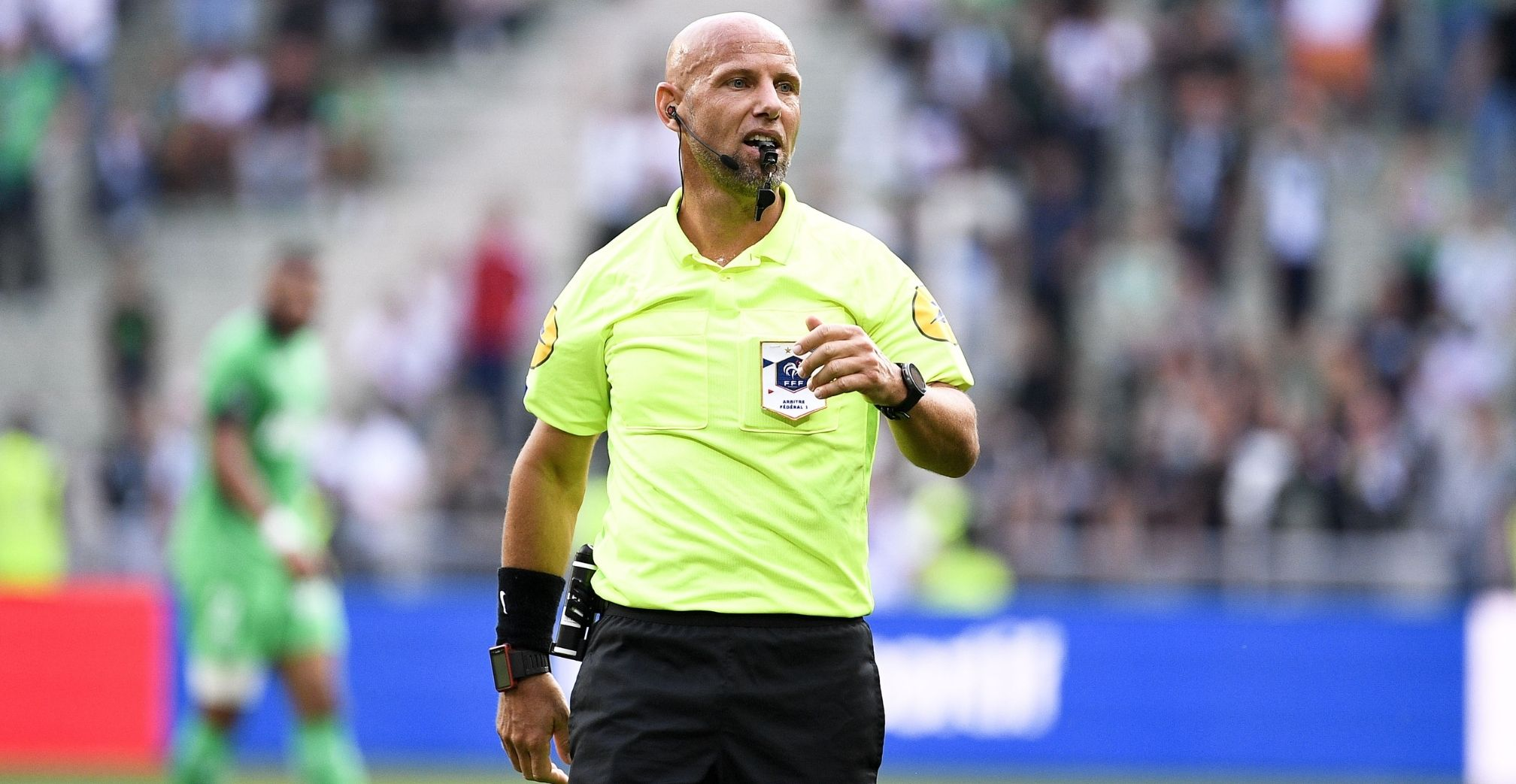 The referees of the tenth day